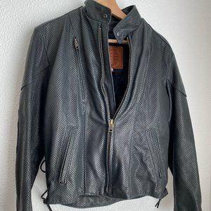 Beautiful Kerr leather woman's Motorcycle jacket